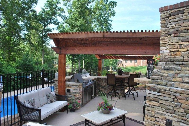 Cedar Pergolas At Sound Cedar Lumber